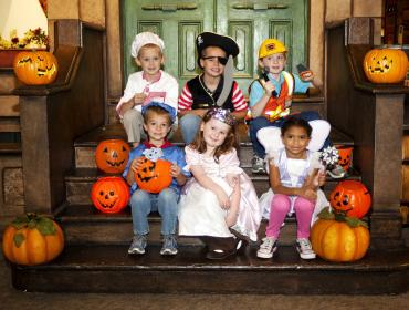Toddler Trick-or-Treat