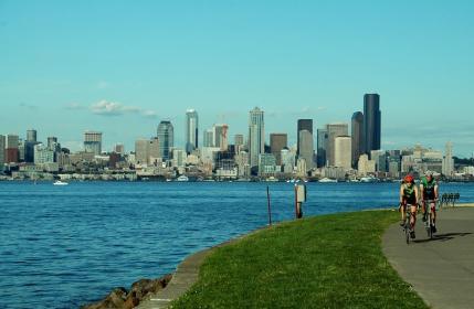 Best City Views in Seattle Alki Beach
