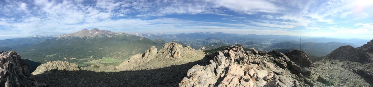 Twin Sisters Panorama, bigger