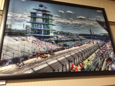 IMS racing art at Old Bob's