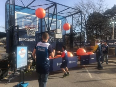 NCAA Fan Fest Fun