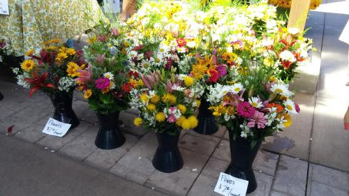 """""""Fresh bouquets right from the garden"""""""