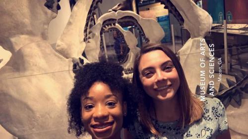 Selfie at Museum of Arts & Sciences