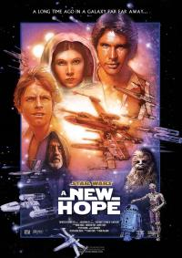 Star Wars A new hope PAC movie poster
