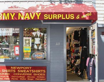 Army Navy Surplus