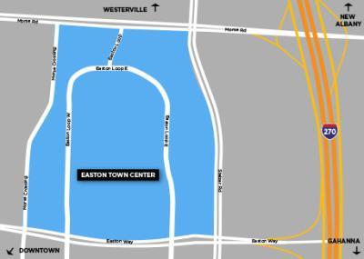 Easton Neighborhood Map