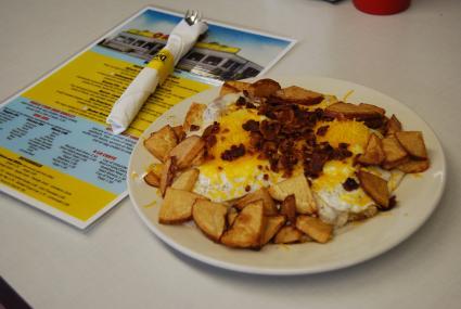 Fabulous breakfast at Oasis Diner!