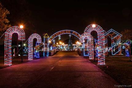 Christmas in Lafreniere Park