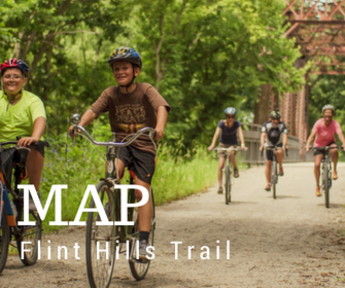 Flint Hills Trail Map