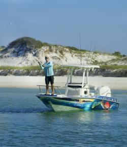 Boat Shell Island PCB Fishing