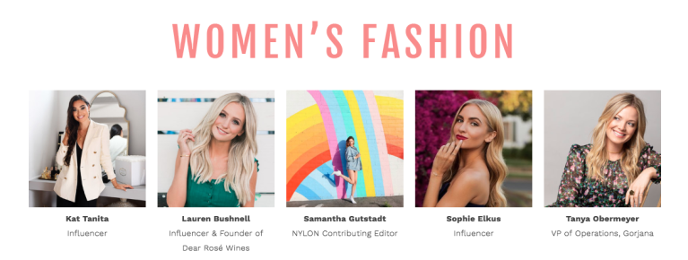Style Week OC SIMPLY Womens Fashion Panel Speakers