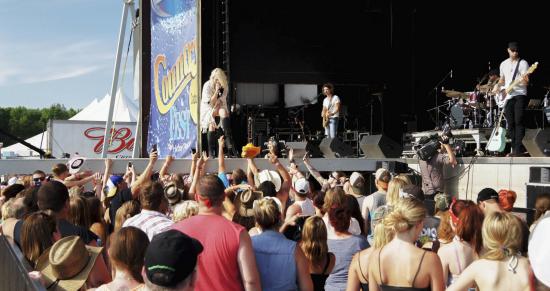 Country Fest in Cadott, Wisconsin