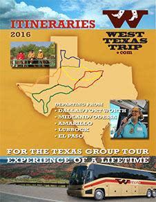 West Texas Trip Booklet 2016