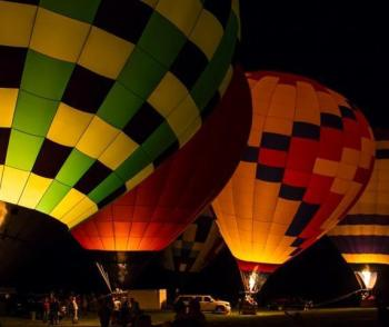 You won't want to miss the beauty of the Avon Balloon Glow!