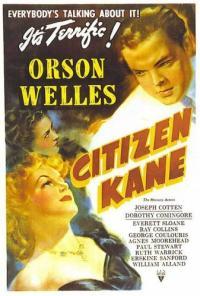Citizen Kane PAC movie poster