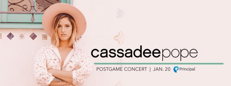 Cassadee Pope Post Game Concert