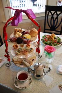 High tea, English Tea Room Covington