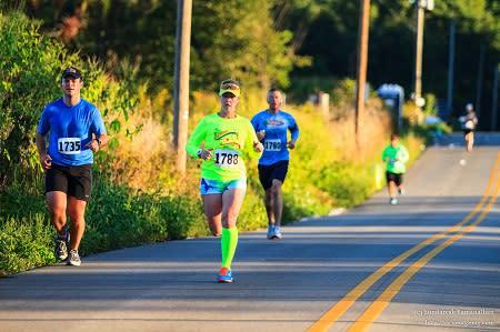 Hendricks County Half Marathon runners