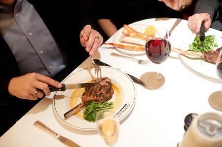 Steak dinner at McKendrick's