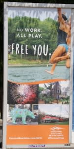 2016 Spring/Summer Co/Op - Platform Posters - MTA - Northern Pocono Mountains