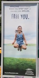 2016 Spring/Summer Co/Op - Platform Posters - MTA - Pocono Mountains Visitors Bureau