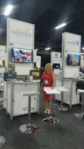 Discover Saratoga Booth at Cvent Connect