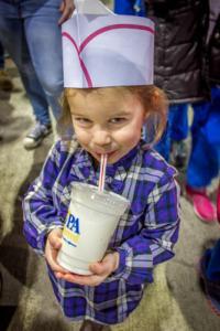 Milkshakes at the Pennsylvania Farm Show in Harrisburg, PA