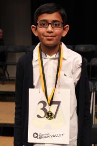 Spelling Bee Champion Christopher Serrao