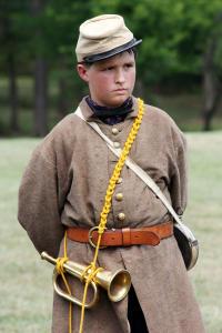 Civil War Child - Manassas Battlefield ReEnactment