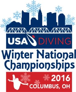 USA Diving Winter logo