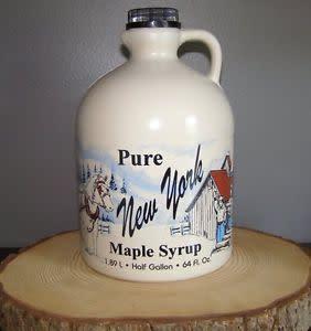 Maple syrup jug