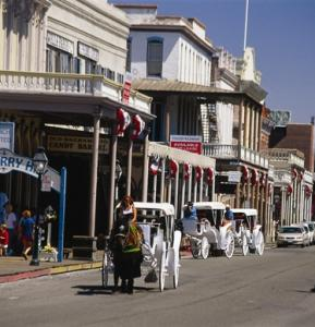 Studnets can learn the history of the Gold Rush walking the streets of Old Sacramento.