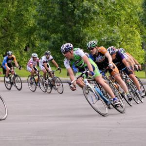 Bike Race in Rochester, NY