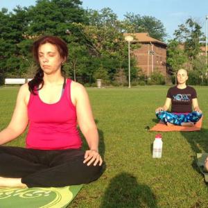 Riverfront Park Yoga