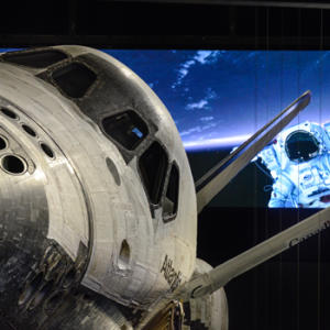 Atlantis Shuttle Exhibit at the Kennedy Space Center Visitor Complex
