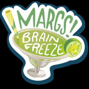Visit Austin Margs sticker