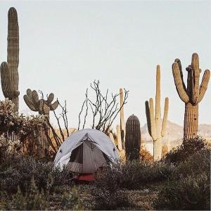 Camping Tent Lost Dutchman State Park Superstition Mountains - Crowdriff