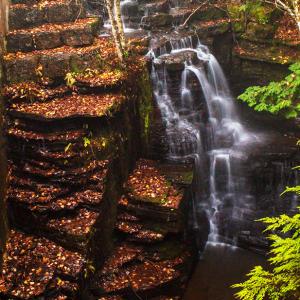 Waterfalls at Fillmore Glen State Park