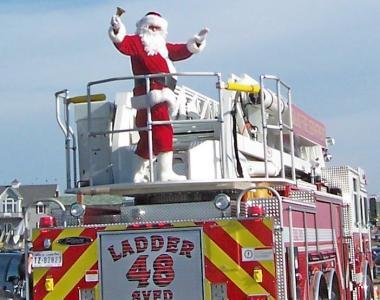 Santa Christmas Hatteras Thanksgiving