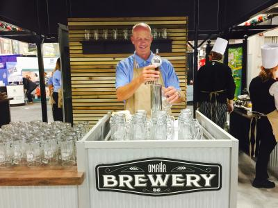 Visit Omaha ASAE Booth Craft Root Beer