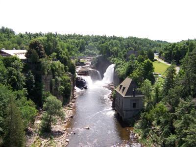 Ausable Chasm Falls - Ausable Chasm - Photo by Adirondack Coast Visitors Bureau
