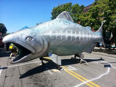 Ballard Seafood Festival in Seattle