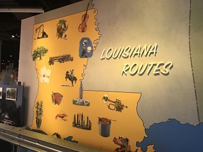 Louisiana Routes Map