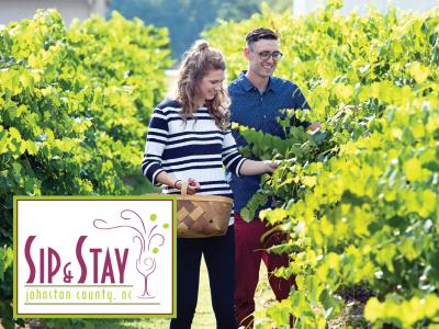 Sip and Stay Logo