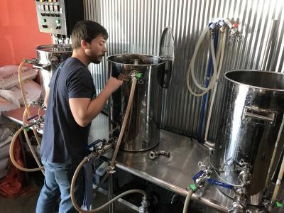 Brew Lab Brewing Beer