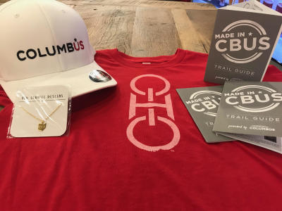 Ohio merchandise in visitor centers