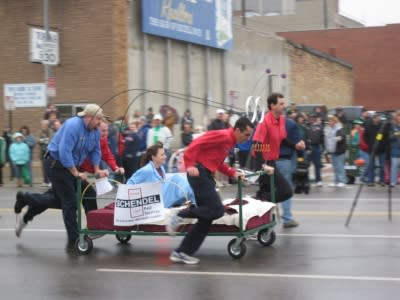 Bed Race Topeka Kansas