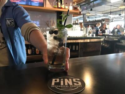 PINS pinball wizard cocktail
