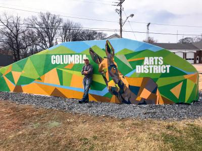 Arts District Mural