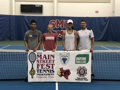MSF Tennis Tournament 2018 Winners